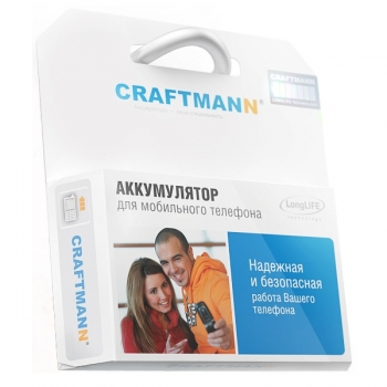 Аккумулятор Craftmann для LG K10 LTE K430DS (BL-45A1H)