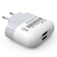 Сетевое зарядное устройство Craftmann 2 USB (2.1 А), белый