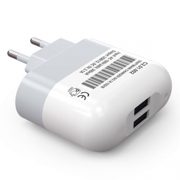 Сетевое зарядное устройство CRAFTMANN  2хUSB    2,1 А