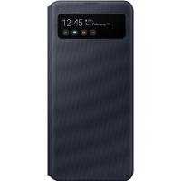 Чехол-книжка Samsung EF-EA415PBEGRU S View Wallet Cover для Galaxy A41, черный