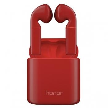 Bluetooth гарнитура Беспроводные наушники Huawei Honor FlyPods Pro red, красные