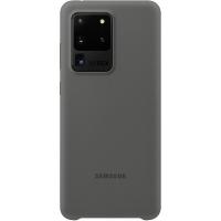Чехол-накладка Samsung EF-PG988TJEGRU Silicone Cover для Galaxy S20 Ultra, серый
