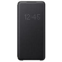 Чехол-книжка Samsung EF-NG985PBEGRU Smart LED View Cover для Galaxy S20+, черный