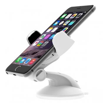 Автомобильный держатель Onetto Easy Flex III Car&Desk Mount (белый)