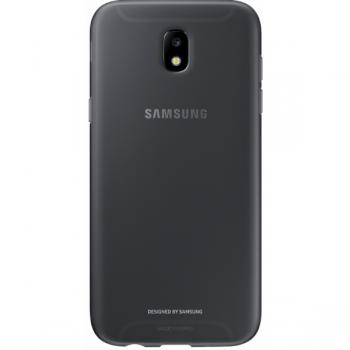 Чехол-накладка Samsung Jelly Cover для Galaxy J7 (2017) черный ( EF-AJ730TBEGRU)