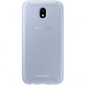 Чехол-накладка Samsung Jelly Cover для Galaxy J5 (2017) голубой (EF-AJ530TLEGRU)