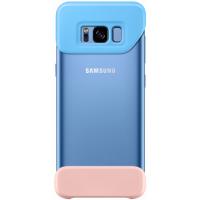 Чехол 2Piece Cover Galaxy для S8+,голубой/персиковый (EF-MG955CLEGRU)