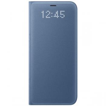 Чехол Samsung LED View Cover S8+,голубой (EF-NG955PLEGRU)