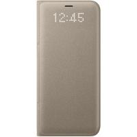 Чехол Samsung LED View Cover S8+,золотистый (EF-NG955PFEGRU)