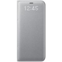 Чехол Samsung LED View Cover S8+,серебристый (EF-NG955PSEGRU)