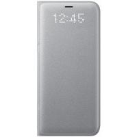 Чехол Samsung LED View Cover S8,серебристый (EF-NG950PSEGRU)