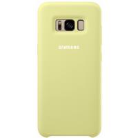 Чехол Samsung Silicone Cover для Galaxy S8,зеленый (EF-PG950TGEGRU)