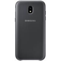 Чехол-накладка Samsung Dual Layer Cover для Galaxy J7 (2017) чёрный (EF-PJ730CBEGRU)