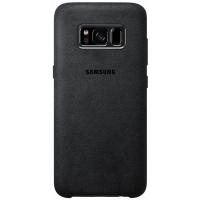 Чехол Samsung Alcantara Cover для S8+,черный (EF-XG955ASEGRU)