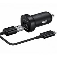 Автомобильное зарядное устройство Samsung EP-LN930B, microUSB