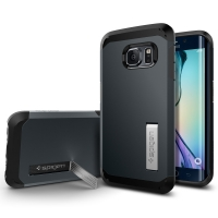 Чехол Spigen Tough Armor SGP11429 для Samsung Galaxy S6 Edge (черный)
