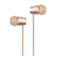 Наушники Hoco M10 Metal Universal Earphone (gold)