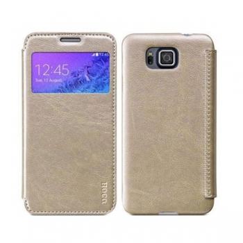 Чехол HOCO Crystal Series для Samsung Galaxy Alpha (золотой)
