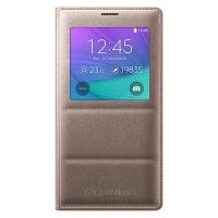 Чехол Samsung S View Cover для Galaxy Note 4 EF-CN910BEEGRU Gold