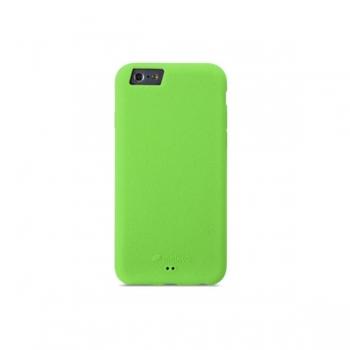 Чехол Melkco Silikonovy для iPhone 6 силиконовый (green) + пленка