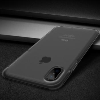 Чехол накладка Rock Guard Series  для iPhone X  (черный)