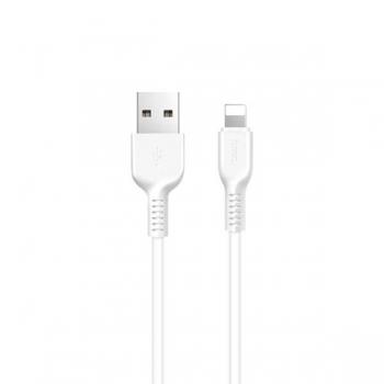 Кабель USB Hoco X20 Lightning 1m (белый)