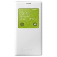 Чехол Samsung S-View EF-CG800BWEGRU для G800 Galaxy S5 Mini (белый)