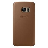 Чехол Leather Cover EF-VG930LDEGRU для Samsung Galaxy S7 (коричневый)