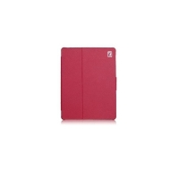 Чехол для new iPad 3 / iPad 2 / iPad 4 IcareR Distinguished Leather Series (малиновый)