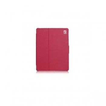 Чехол для new iPad 3 / iPad 2 / iPad 4 IcareR Distinguished Leather Series (малиновый)