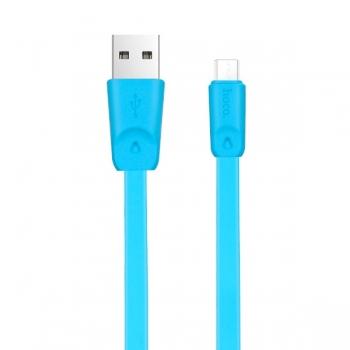 Кабель Hoco X9 micro usb 2 метра (синий)
