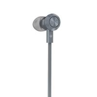 Наушники с микрофоном Hoco M7 Universal Metal Earphone (tarnish)