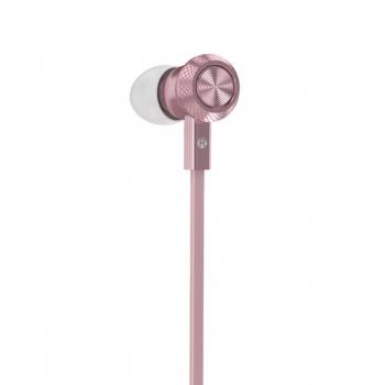 Наушники с микрофоном Hoco M7 Universal Metal Earphone (rose/gold)