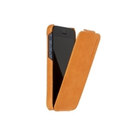 Borofone для iPhone 5 General flip Leather Case (Orange)