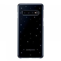 Чехол Samsung LED Cover для S10,черный (EF-KG973CBEGRU)