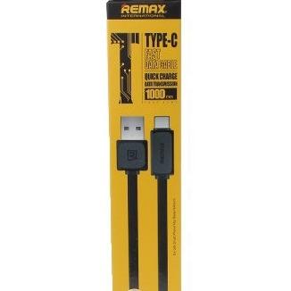 Дата кабель Remax Fast Cable USB Type-C (1м, черный)