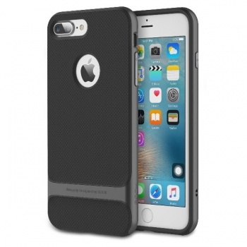 Чехол накладка Rock Royce для iPhone 7 Plus (серый)