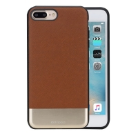 Чехол Rock Elite Series для iPhone 7 Plus (коричневый)