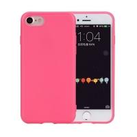 Силиконовый чехол Rock Jello Series для iPhone 7 Plus (розовый)