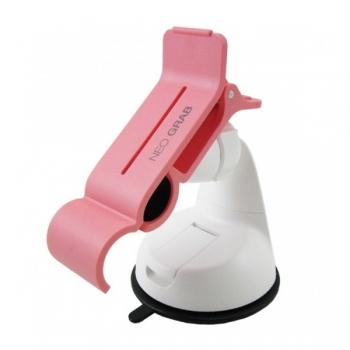 Автомобильный держатель NEOGRAB универсальный (розовый)