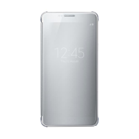 Чехол Samsung Clear View Cover для Galaxy Note 5 серебристый (EF-ZN920CSEGRU)