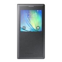 Чехол Samsung S-View EF-CA700BCEGRU для Galaxy A7 (black)