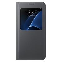 Чехол Samsung S View Cover EF-CG930PBEGRU для Galaxy S7 черный
