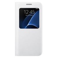 Чехол Samsung S View Cover EF-CG930PWEGRU для Galaxy S7 белый