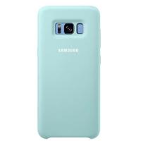 Чехол Samsung Silicone Cover для Galaxy S8+,голубой    (EF-PG955TLEGRU)