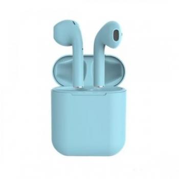 Беспроводные стерео наушники inPods 12 TWS Bluetooth 5.0, голубой