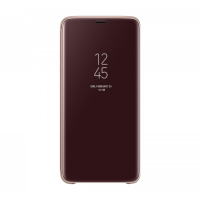 Чехол Clear View standing Cover Galaxy S9+,золотистый (EF-ZG965CFEGRU)