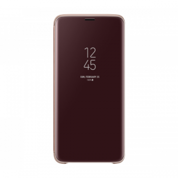 Чехол Clear View standing Cover Galaxy S9+,золотистый (EF-ZG965CFEGRU)