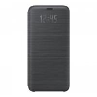 Чехол Samsung LED View Cover S9,черный (EF-NG960PBEGRU)