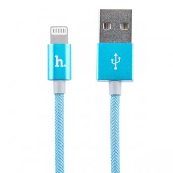 USB кабель Hoco UPL09 для iPhone, iPad (синий)